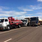 Greve SP - Grupo de 100 caminhoneiros encerra protesto na Raposo Tavares. Foto: Mariane Peres/G1