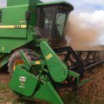 Colheita de soja em Barra do Garças (MT), envio de Vlamir Leggieri