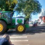 Greve RS - População em apoio ao movimento dos caminhoneiros em Passo Fundo (RS). Envio de Marcos da Rosa