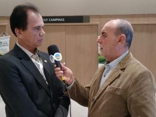 Alexandre Lima - Presidente da Feplana e Giovanni Lorenzon