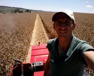 Colheita milho em Pranchita (PR), do produtor Flávio Irber. Enviado por Laércio Crestani