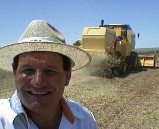 Colheita de soja e plantio de milho safrinha em Nova Aurora (PR). Enviado pelo Técnico Agrícola David Clemente