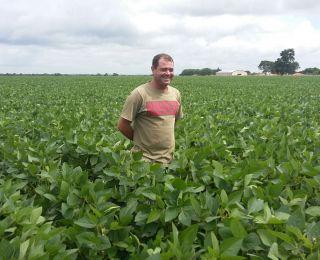Lavoura de soja em Balsas (MA), do produtor Adriano B. de Godoy, na Fazenda Campolina