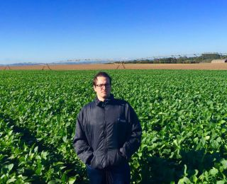 Lucas na Fazenda Canaã em Bernardino de Campos (SP)