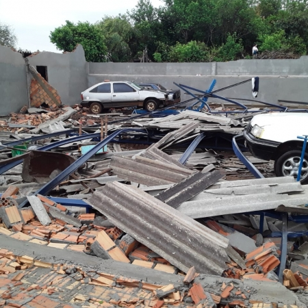Chuva em Caibaté-RS