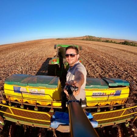 Plantio de soja em Itambé/PR. Foto: Nivaldo Forastieri