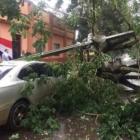 Enchentes no Paraguai - Foto: Reprodução/Redes sociais