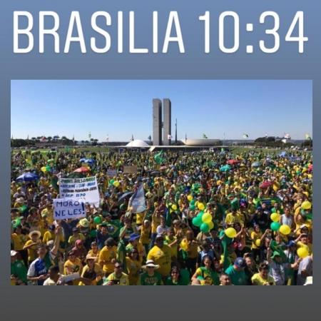 passeata brasilia