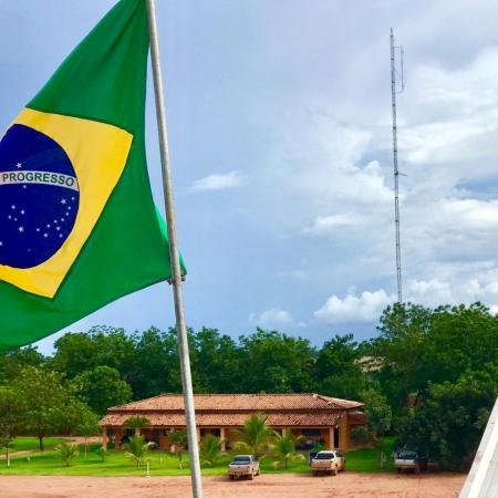 7 de Setembro - Fazenda Três Maria Grupo Secco - Ribeirão Cascalheira (MT) - Envio Vanderlei Secco.