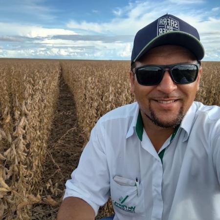Colheita de soja na Fazenda Buriti do Grupo Via Fértil a todo vapor, em Sapezal (MT) - Ger. Rodolfo D. Farias