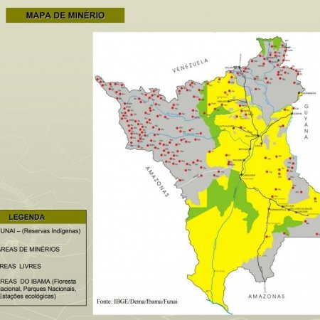 mapa mina