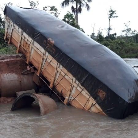 Chuvas em Tapurah (MT) - Foto: Reprodução/Redes sociais