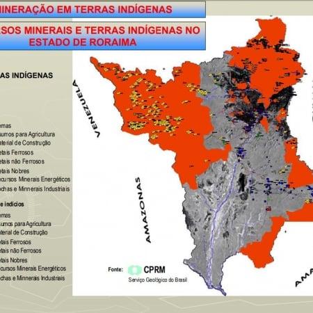 Slides Terras Indígenas e Mineração - Roraima - Matéria 12/09/2019