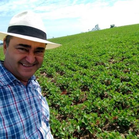Plantio de soja safra 2018/2019, propriedade de Sérgio Munhoz em Santa Cecília do Pavão (PR). Envio de Sérgio Munhoz