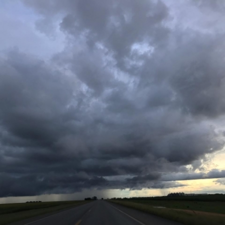Chuvas nesta terça-feira (26) em Luís Eduardo Magalhães (BA) - Foto: Jonas Amalfi Olivi