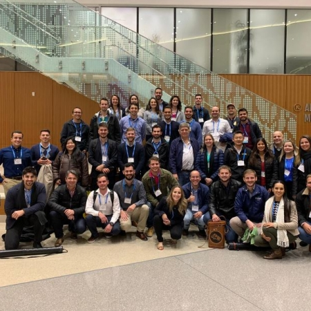Brasileiros participando do 2019 ASA-CSSA-SSSA International Annual Meeting em San Antonio, Texas - EUA. Envio de Edicarlos Castro
