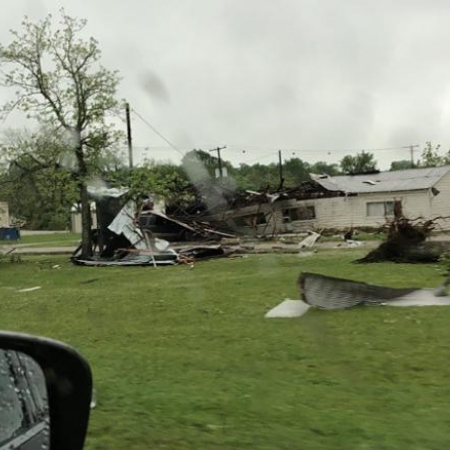 Tornado no Texas - Fonte: CNN