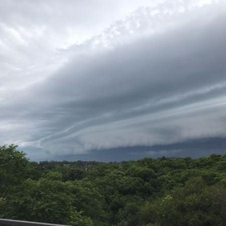Chuva em Uruguaiana (RS) - Foto: Reprodução/Redes Sociais