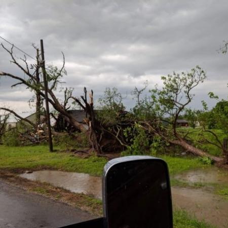 Tornado Texas Twitter