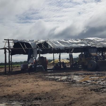 Chuva em Matões (MA) - Foto: Reprodução/Redes sociais