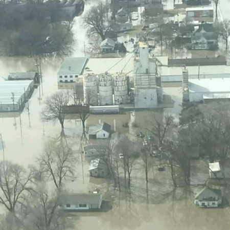 Enchentes nos EUA - Março 2019