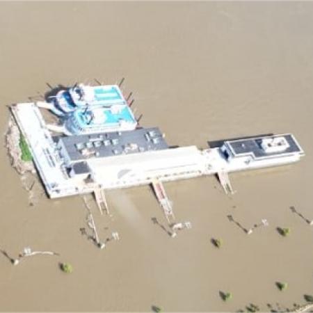 Destacão chuvas EUA Saint Louis/Missouri