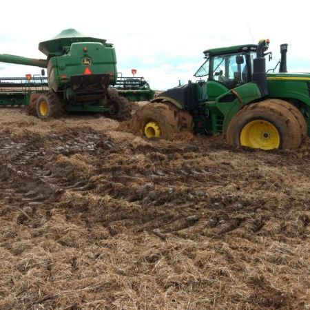 Chuvas atrapalham colheita da soja em Mato Grosso - Foto: Reprodução/Redes Sociais