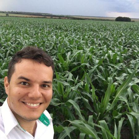 Plantio de milho em Gaúcha do Norte (MT). Envio de Alex Gian Alessio