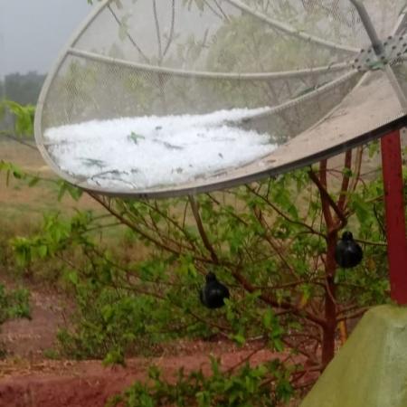 Chuvas de granizo em MG