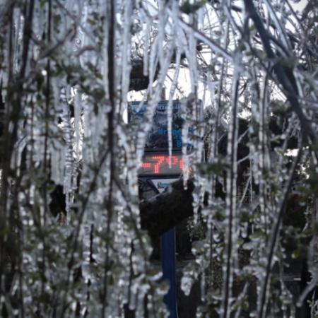 Chuva congelada em Urupema (SC) - Foto: Marleno Muniz Farias / Prefeitura de Urupema