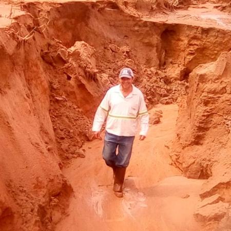 Erosão - Fotos enviadas por Afonso Peche
