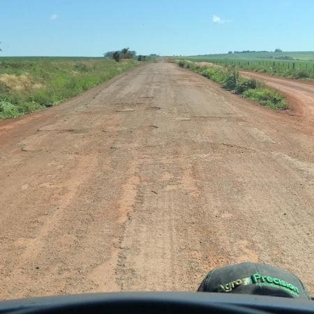 Estrada em Joia-RS