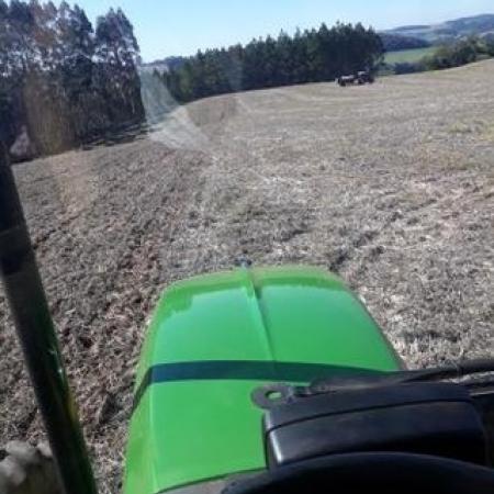 Plantio de trigo em Erechin (RS). Envio de Leandro Marostica