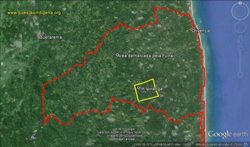 Mapa de Buerarema