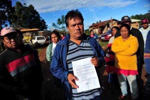Cacique Deoclides de Paula culpou o ministro da Justiça pelo problema - Foto: Agência RBS