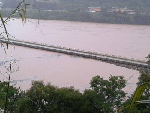 Ponte do Rio Uruguai entre Erechim/RS e Chapecó/SC