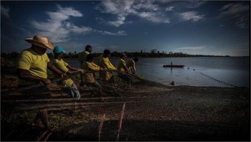 Produção de Peixes em Sorriso - Foto: Expedição Veja