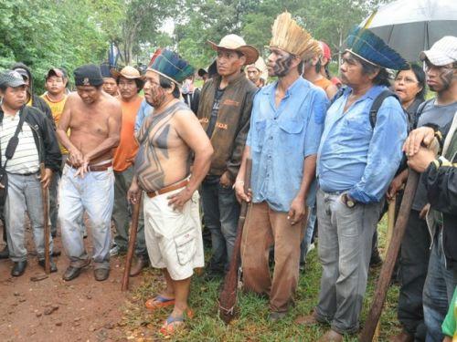 Ocupação de indígenas em fazendas de Sidrolândia/MS