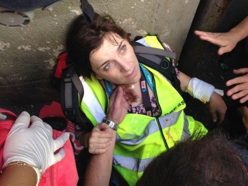 Jornalista da CNN ferida em protestos em SP