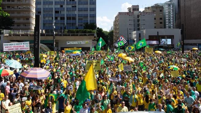 avenida paulista 1.o de maio
