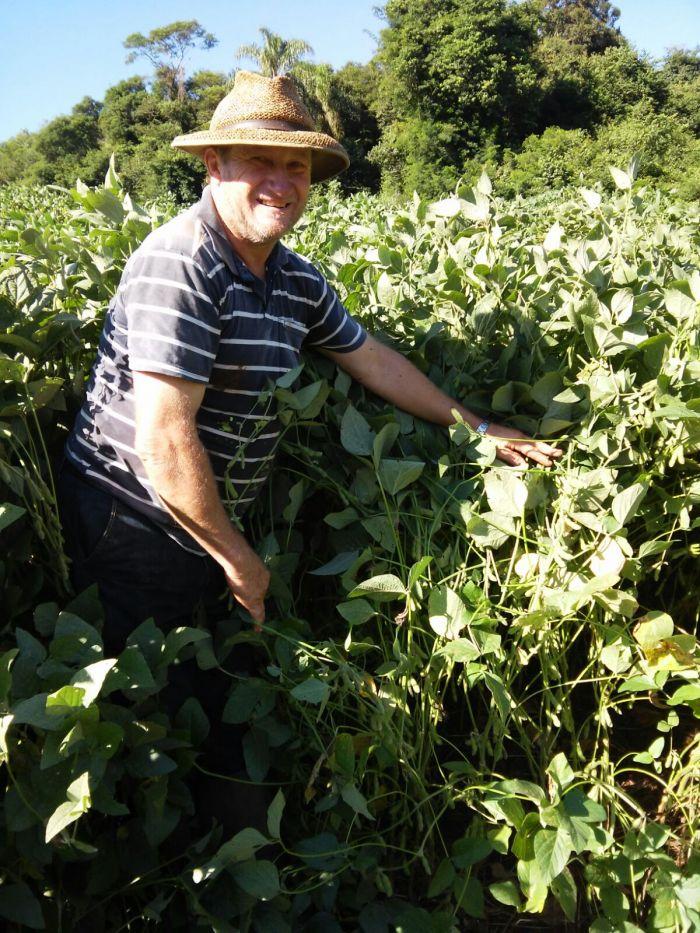 Imagem do dia - Produtor Vilson Linn em Panambi (RS). Enviado pelo Técnico Agrícola Paulo Moreira