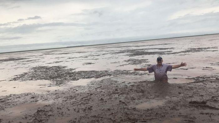 Campo Novo do Parecis/MT - Chuvas na colheita 2016/17 da soja