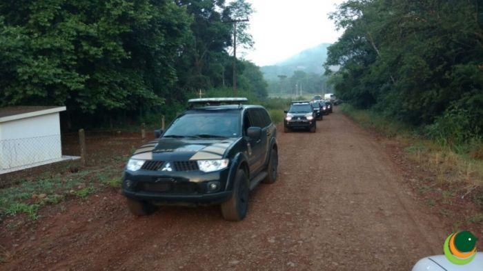 Operação Policial em Sananduva e Cacique Doble/RS 2