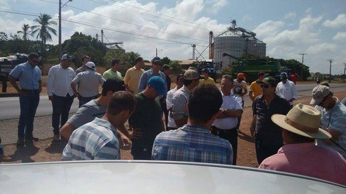 Protesto contra o emplacamento - Paragominas (PA)