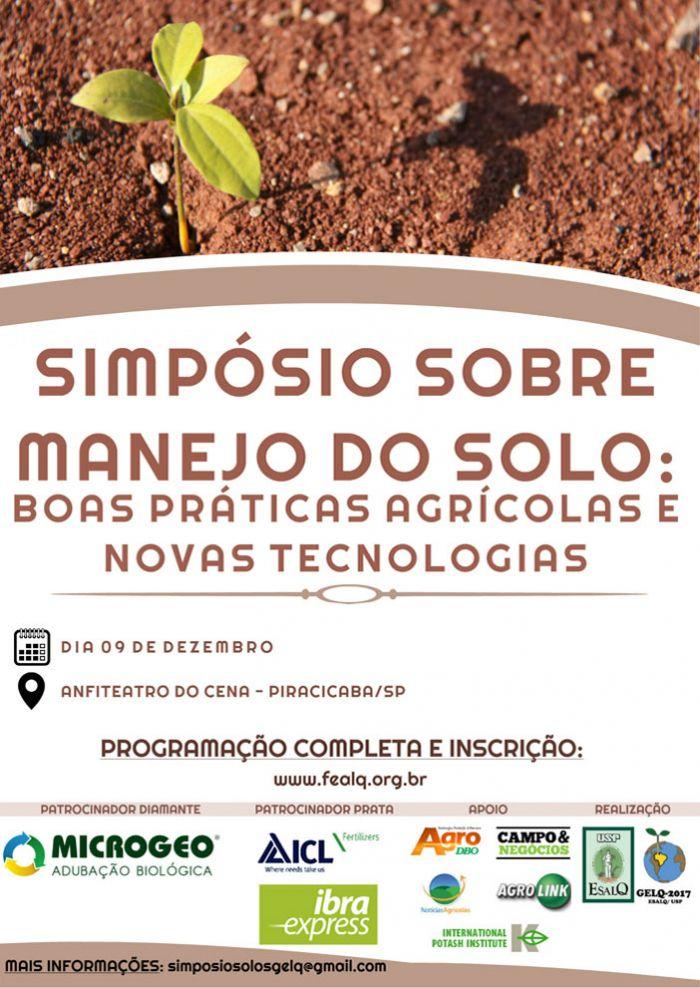 simposio manejo de solos - dia 9 de dezembro