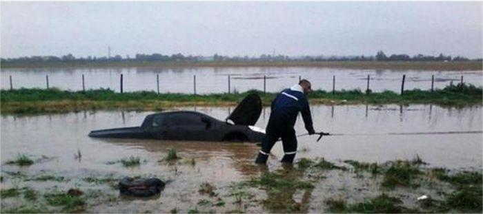 Argentina excesso de chuvas