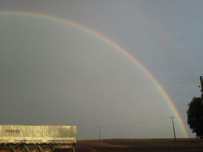 Imagem do Dia - Dia de chuva em Santa Rita (PY), fotos de Ailson Stuepp