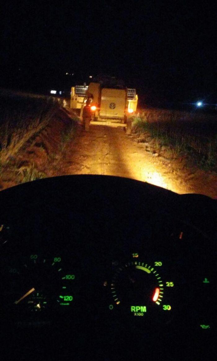 Imagens do dia - Fim da colheita da soja safrinha 2016 em Caibaté (RS). Envio de Rafael Jung