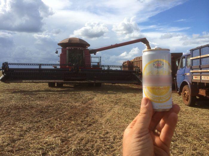 Imagem do Dia - Colheita de soja em Pedro Juan Caballero (PY), envio de Cristian Thiago Eidt