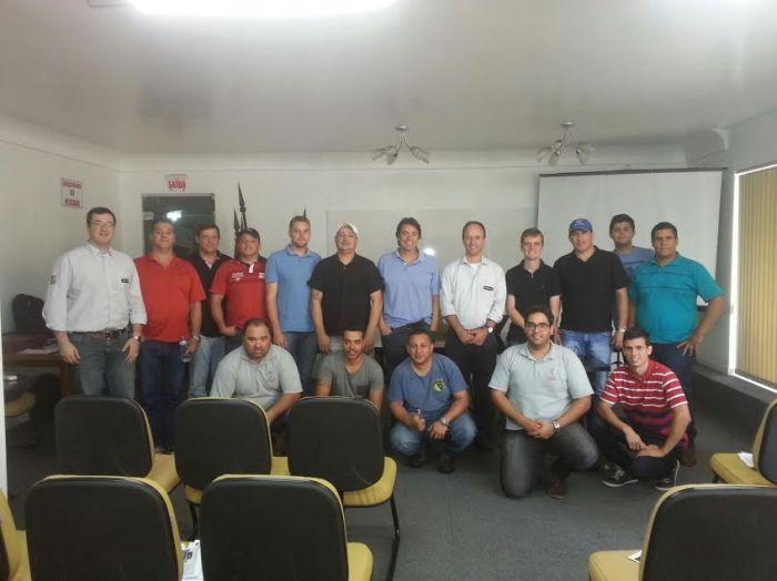 Imagem do dia - Treinamento em Videira (SC). Enviado por Daniel Sanders